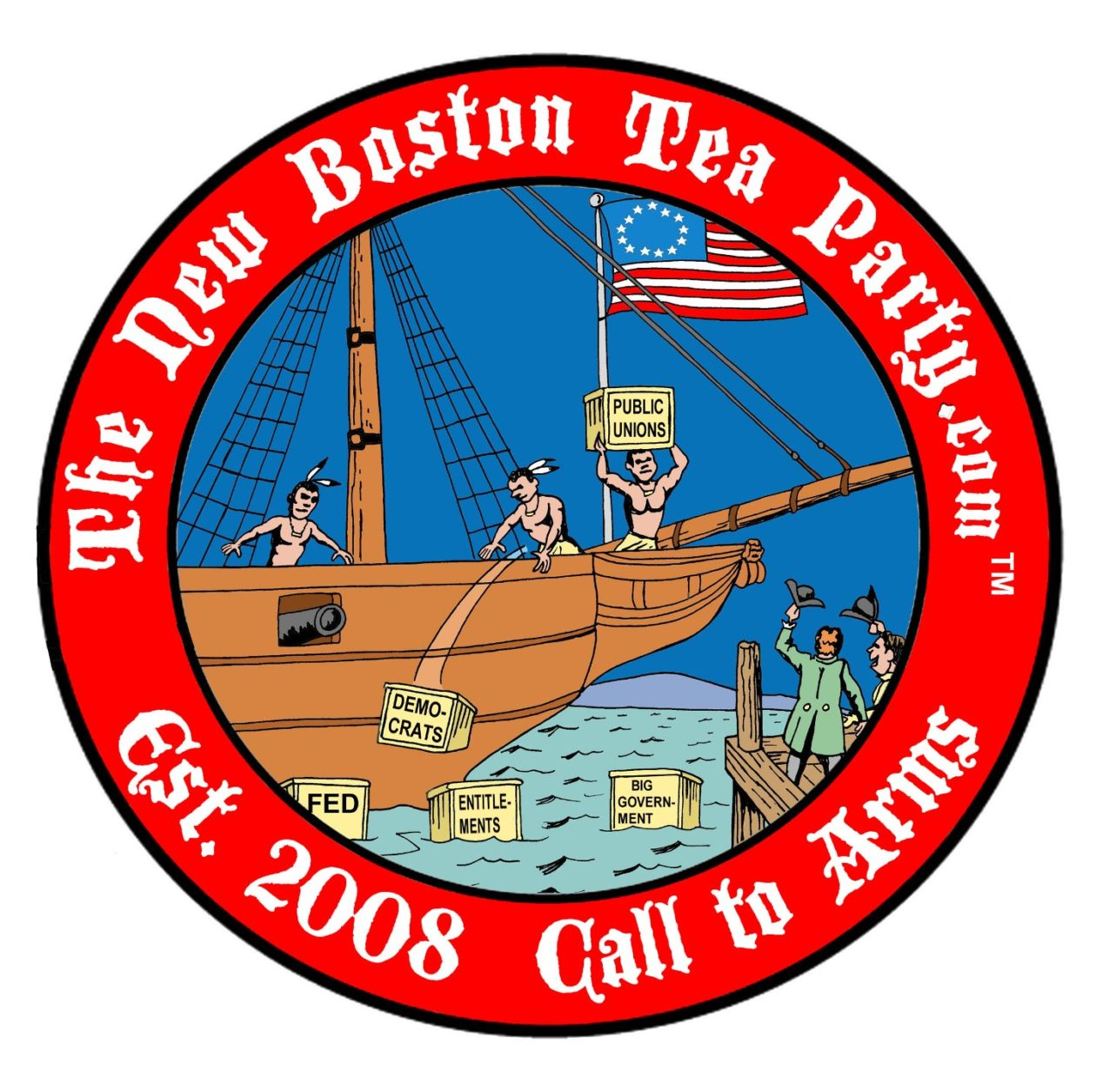 The New Boston Tea Party ©